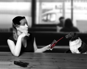 women-and-dog